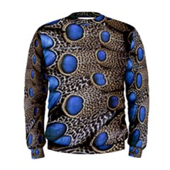 Feathers Peacock Light Men s Sweatshirt