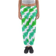 Geometric Art Pattern Women s Jogger Sweatpants by AnjaniArt