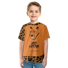 Getgood Dirty Cheetah Kids  Sport Mesh Tee by DirtyCheetahs