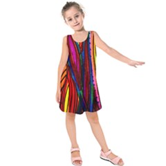 Girl s Modern Leaf Dress by MOOI