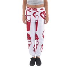 Mad Ice Ernies Tea Bred Women s Jogger Sweatpants