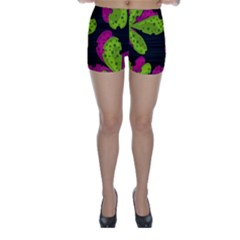 Decorative Leafs  Skinny Shorts by Valentinaart