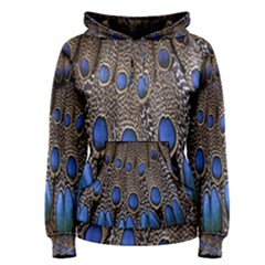 Feathers Peacock Light Women s Pullover Hoodie