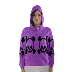 Cartoonskull Danger Hooded Wind Breaker (women)