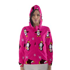 Penguin Hooded Wind Breaker (women)
