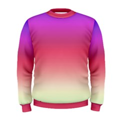 Blue Pink Purple Red Men s Sweatshirt