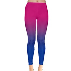 Pink Blue Purple Leggings