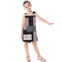 Collage  Kids  Sleeveless Dress by Valentinaart