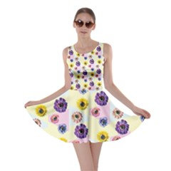Monster Eye Flower Skater Dress by AnjaniArt