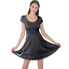 On Black Cap Sleeve Dresses