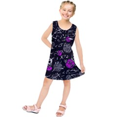 Purple Mind Kids  Tunic Dress by Valentinaart