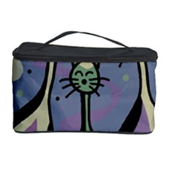 Cats Cosmetic Storage Case by Valentinaart