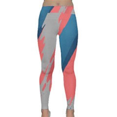 Colorful Classic Yoga Leggings by AnjaniArt