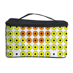 Colored Flowers Cosmetic Storage Case by AnjaniArt