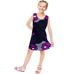 Magenta Creativity  Kids  Tunic Dress by Valentinaart