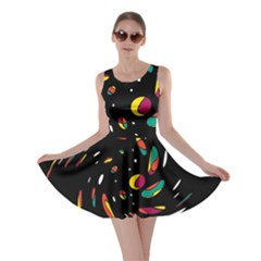 Colorful Twist Skater Dress by Valentinaart