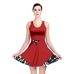Red Valentine Reversible Skater Dress by Valentinaart