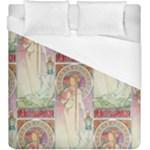 Alfons Mucha 1897 La Trappistine Duvet Cover (King Size)