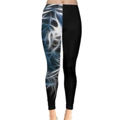 Ghost Tiger Leggings  by Brittlevirginclothing