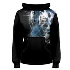 Ghost Tiger Women s Pullover Hoodie by Brittlevirginclothing