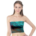 Collection: Photo Water Elements <br>Print Design:  Lava Fish  <br>Style: Tube Top