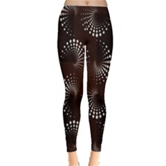 Free Dot Spiral Seamless Leggings