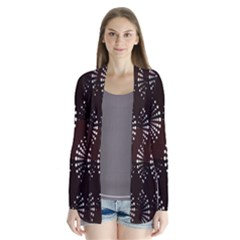 Free Dot Spiral Seamless Cardigans by AnjaniArt