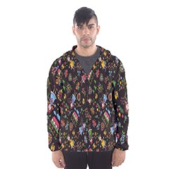 Happy Family Flower Home Sweet Bee Hooded Wind Breaker (men)