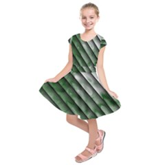 Green Bamboo Kids  Short Sleeve Dress