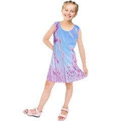 Pink Colour Kids  Tunic Dress by AnjaniArt