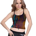Collection: Photo Water Elements <br>Print Design:  Lava Fish  <br>Style: Supportive Bra Top