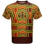 Colourful Kente Pattern Men s Cotton Tee