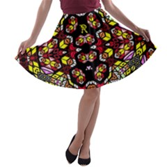Queen Design 456 A Line Skater Skirt by MRTACPANS