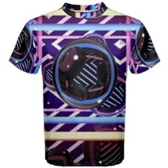 Abstract Sphere Room 3d Design Men s Cotton Tee by Amaryn4rt