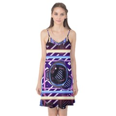 Abstract Sphere Room 3d Design Camis Nightgown by Amaryn4rt