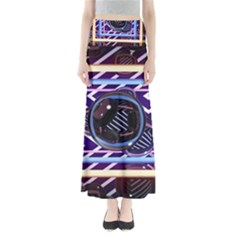 Abstract Sphere Room 3d Design Maxi Skirts by Amaryn4rt