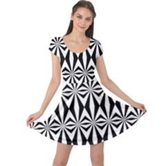 Background Cap Sleeve Dresses by Jojostore