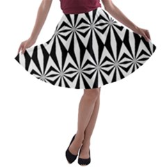 Background A Line Skater Skirt by Jojostore