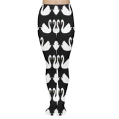Swan Animals Women s Tights by Jojostore