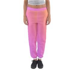 Blank Desk Pink Yellow Purple Women s Jogger Sweatpants by Jojostore