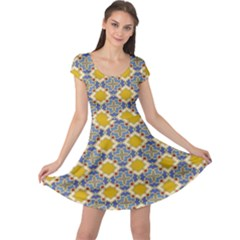 Arabesque Star Cap Sleeve Dresses by AnjaniArt