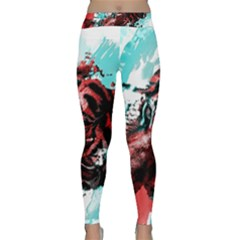 Wallpaper Background Watercolors Classic Yoga Leggings by Amaryn4rt