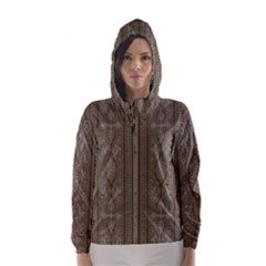 Cool Wall Bedroom Hooded Wind Breaker (women)