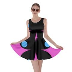 First Butterfly Pink Skater Dress