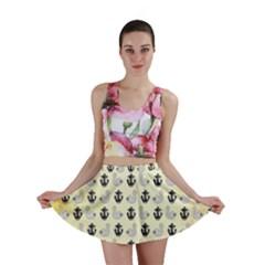Swan Anchor Yellow Goose Mini Skirt by Jojostore