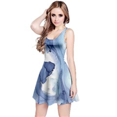 Paint In Water Reversible Sleeveless Dress by Brittlevirginclothing