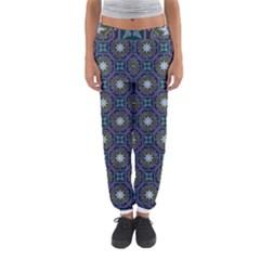Flower Star Gray Women s Jogger Sweatpants by Jojostore