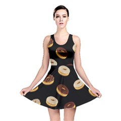 Donuts Reversible Skater Dress by Valentinaart