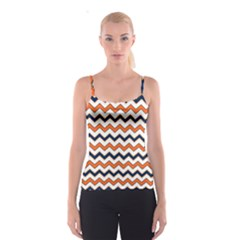 Chevron Party Pattern Stripes Spaghetti Strap Top