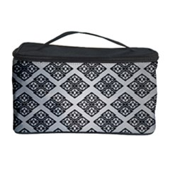 Silver The Background Cosmetic Storage Case by Amaryn4rt